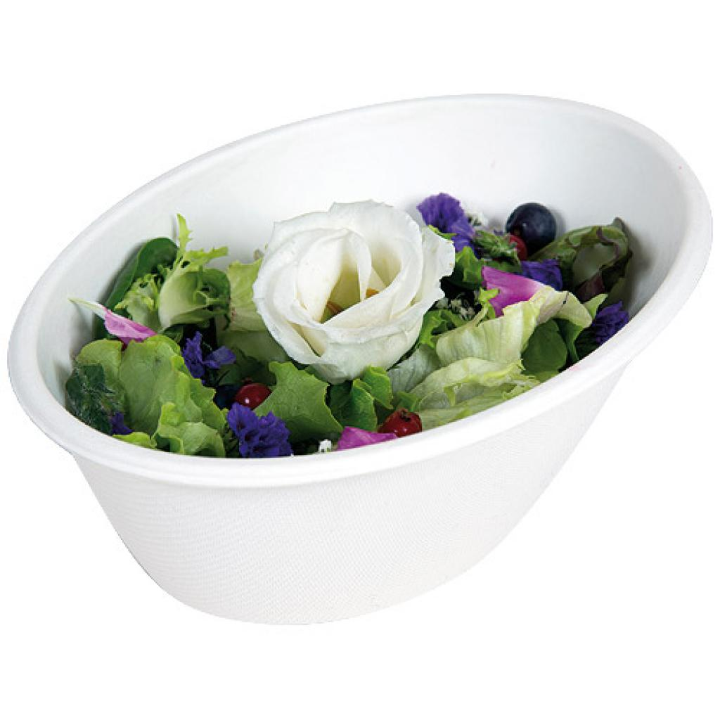 700cc oval pulp salad bowl