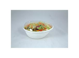 APET lid for 700cc egg-shaped salad bowl