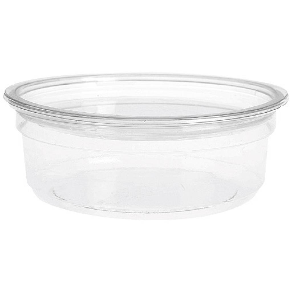 Saladier rond plastique PET 8 oz 22 cl 2