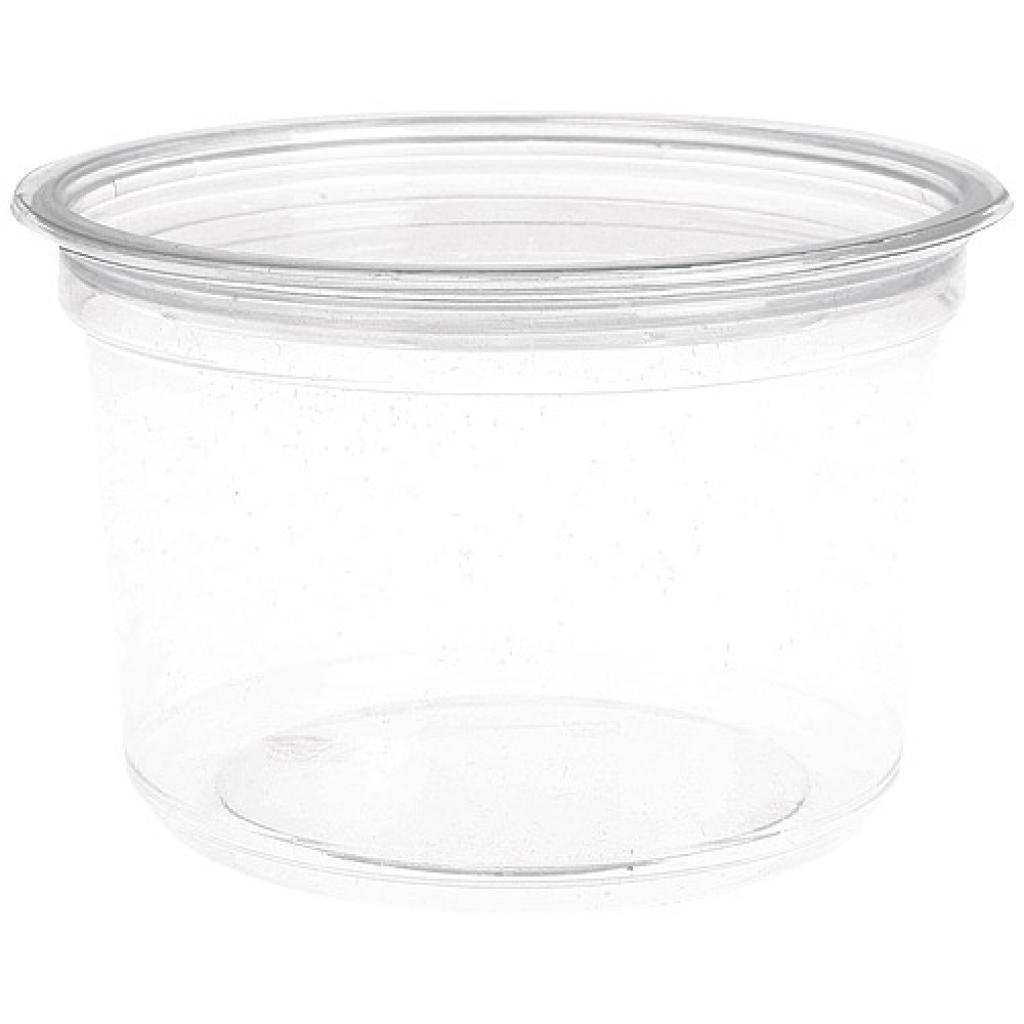 Saladier rond plastique PET 16 oz 48 cl 2