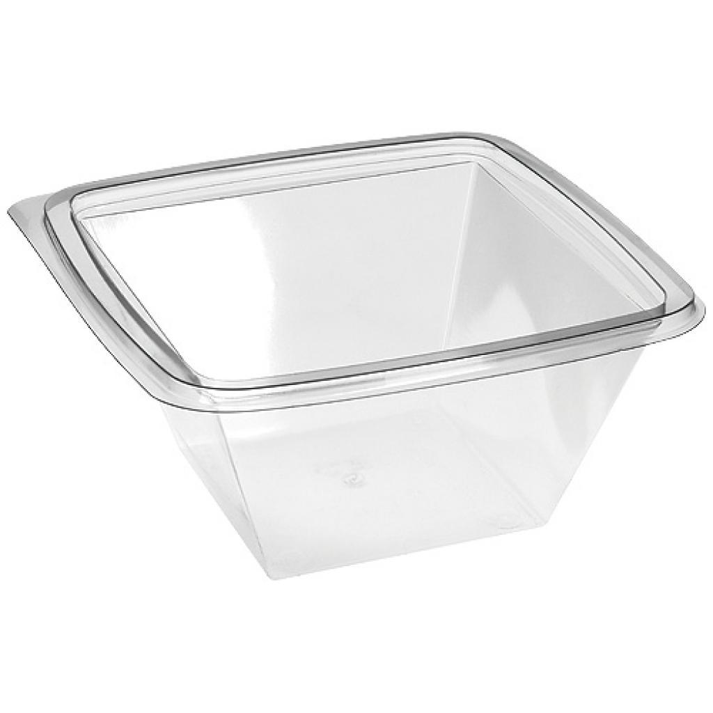 37.5 cl crystal salad bowl square