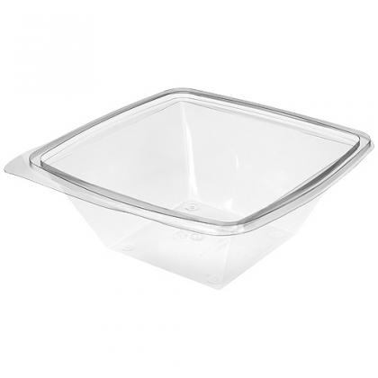 100 cl crystal salad bowls square