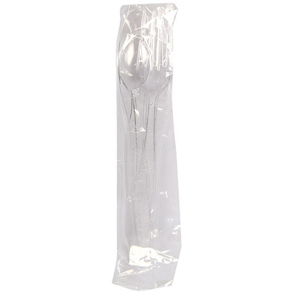 Sachet couvert luxe 3/1 plastique transparent 2