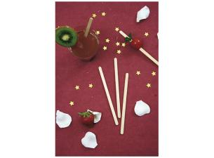 Wooden coffee stirrer, 11 cm