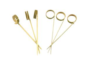 Bamboo loop skewer 105mm