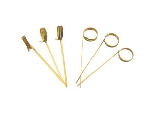 Bamboo loop skewer 90mm