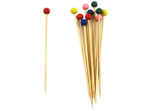 Bamboo ball skewer 120mm