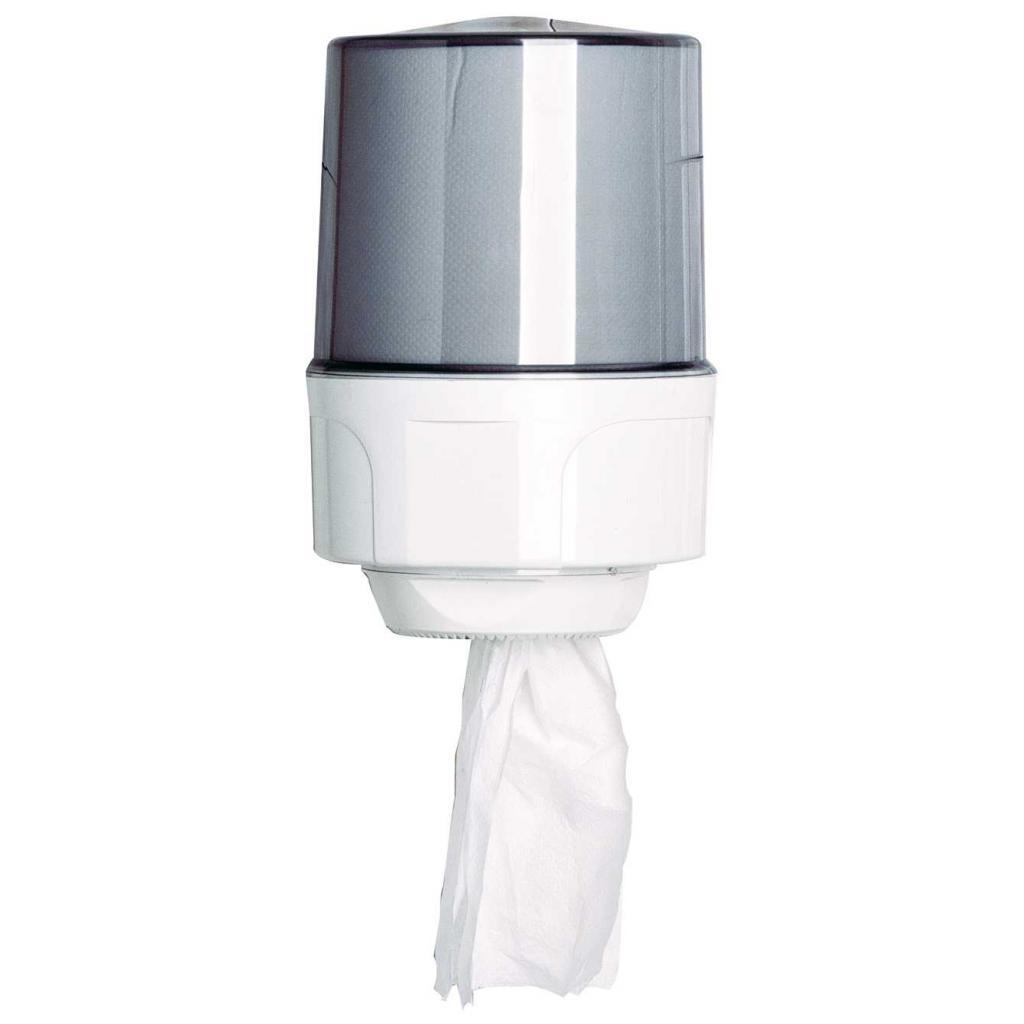 Distributeur bobines essuyage blanc 450 format