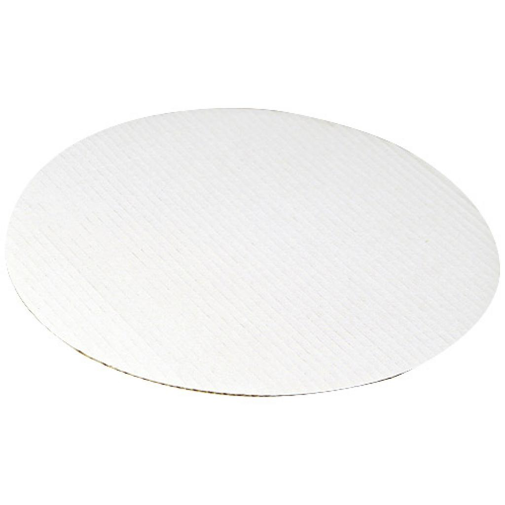 White cardboard pizza box lining Ø 30,5 cm