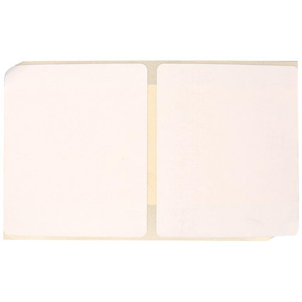 Etiquette thermique blanche 48x41 mm