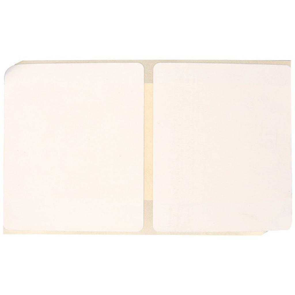 Etiquette thermique blanche 50x61 mm