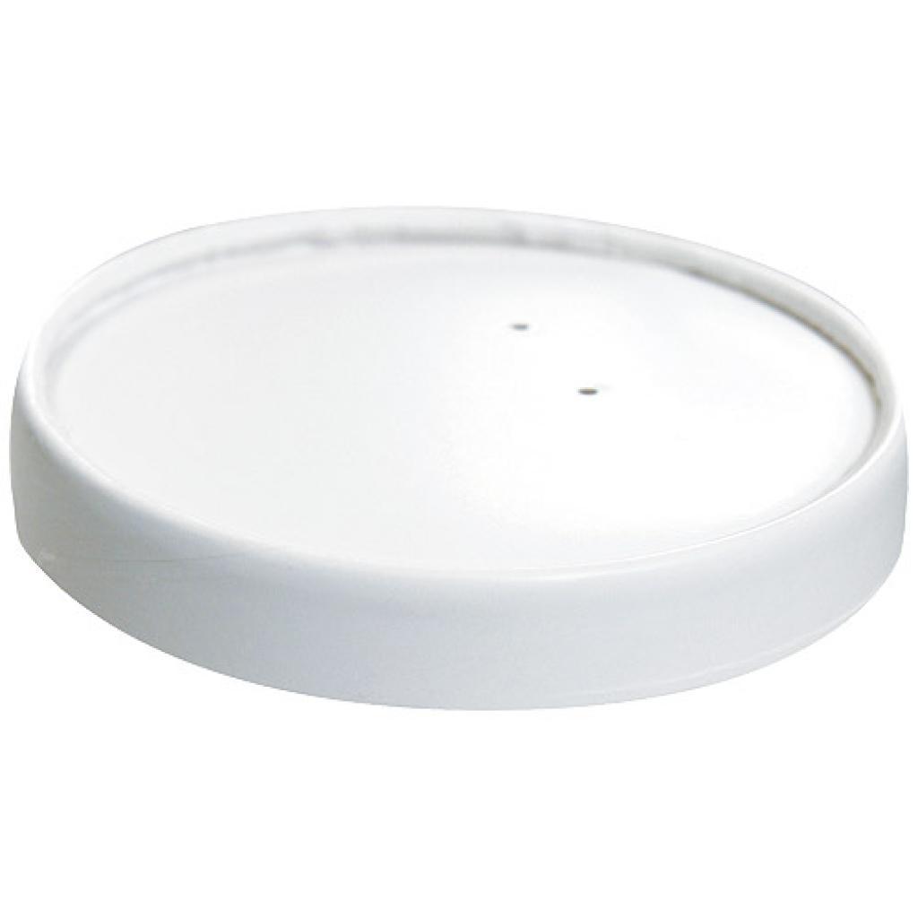 Couvercle en carton pour pot à soupe 24 cl