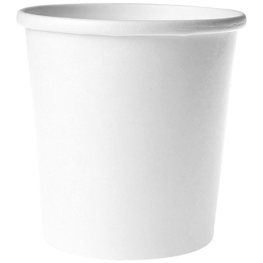 White paperboard soup cup 350 ml