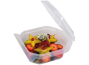 375g octagonal PP container with matching lid
