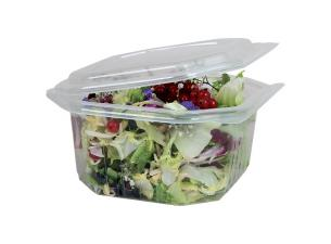 1000g octagonal PP container with matching lid
