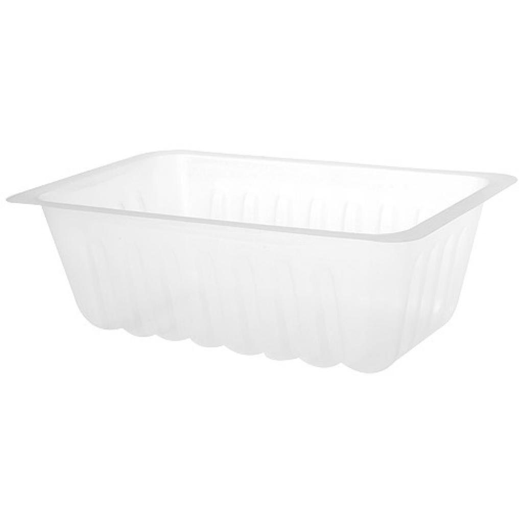 375g transparent PS plastic container