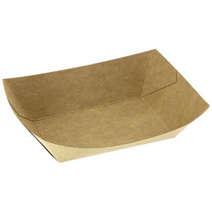 Barquette carton kraft brun 350cc