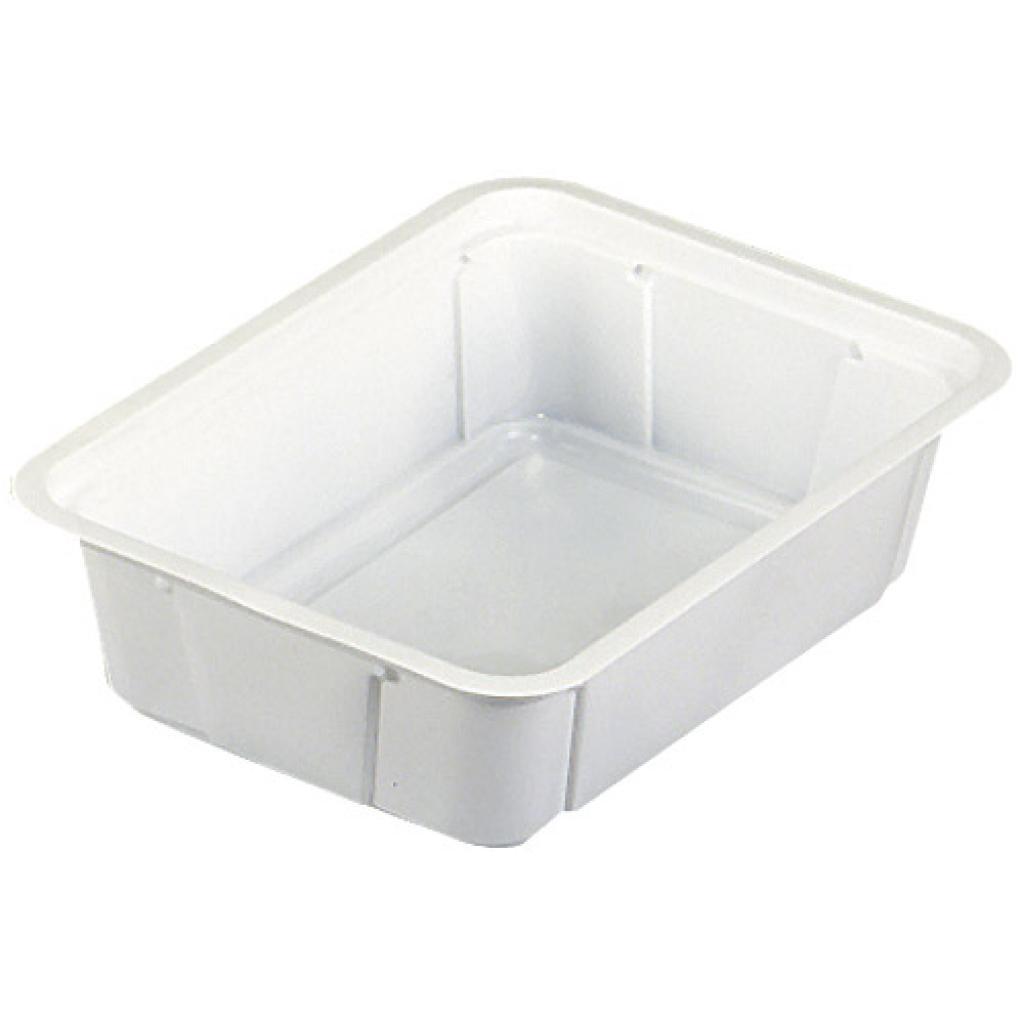 Barquette plastique TMF blanche 250 g
