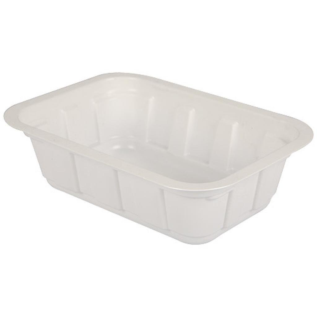 300g white TMF plastic container