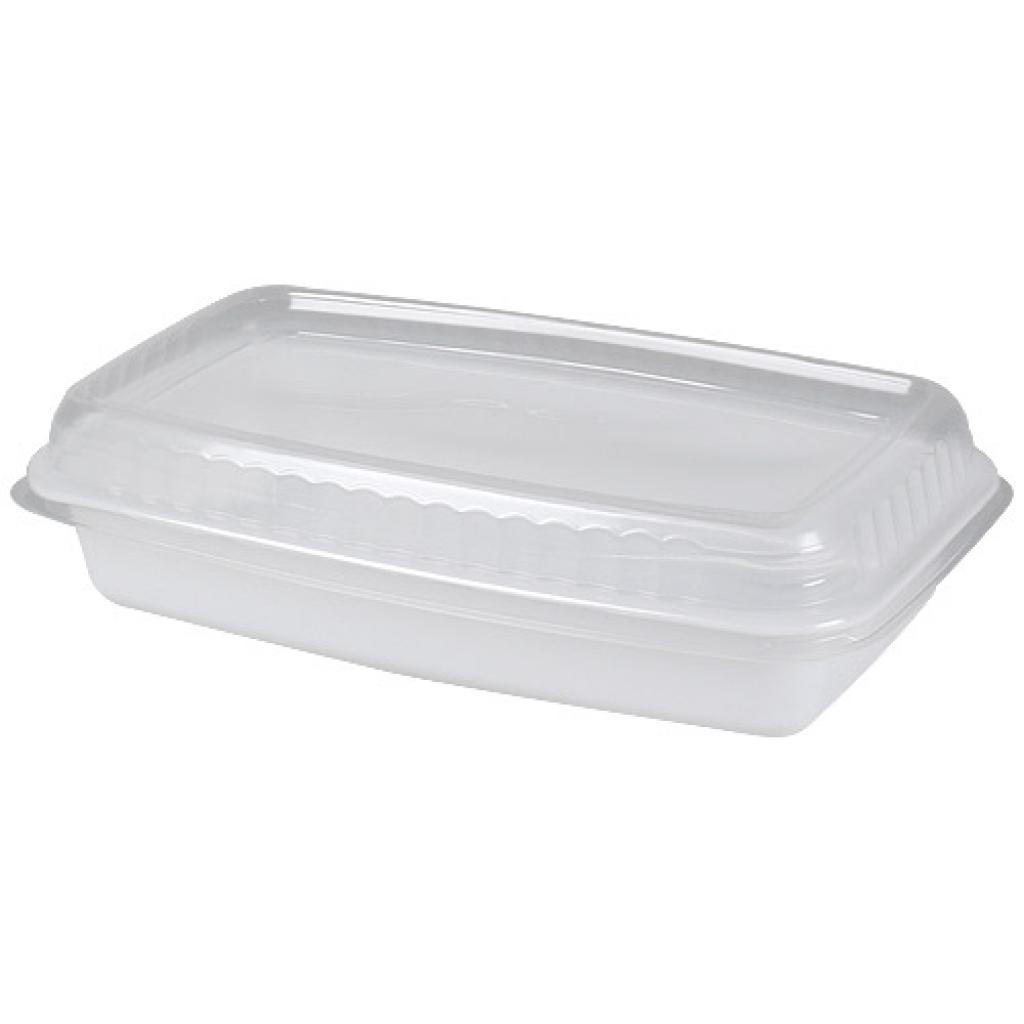 White GN 1/4 plastic container, 45mm depth 3