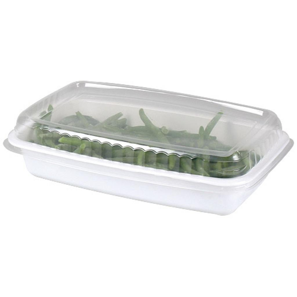 White GN 1/4 plastic container, 45mm depth 4