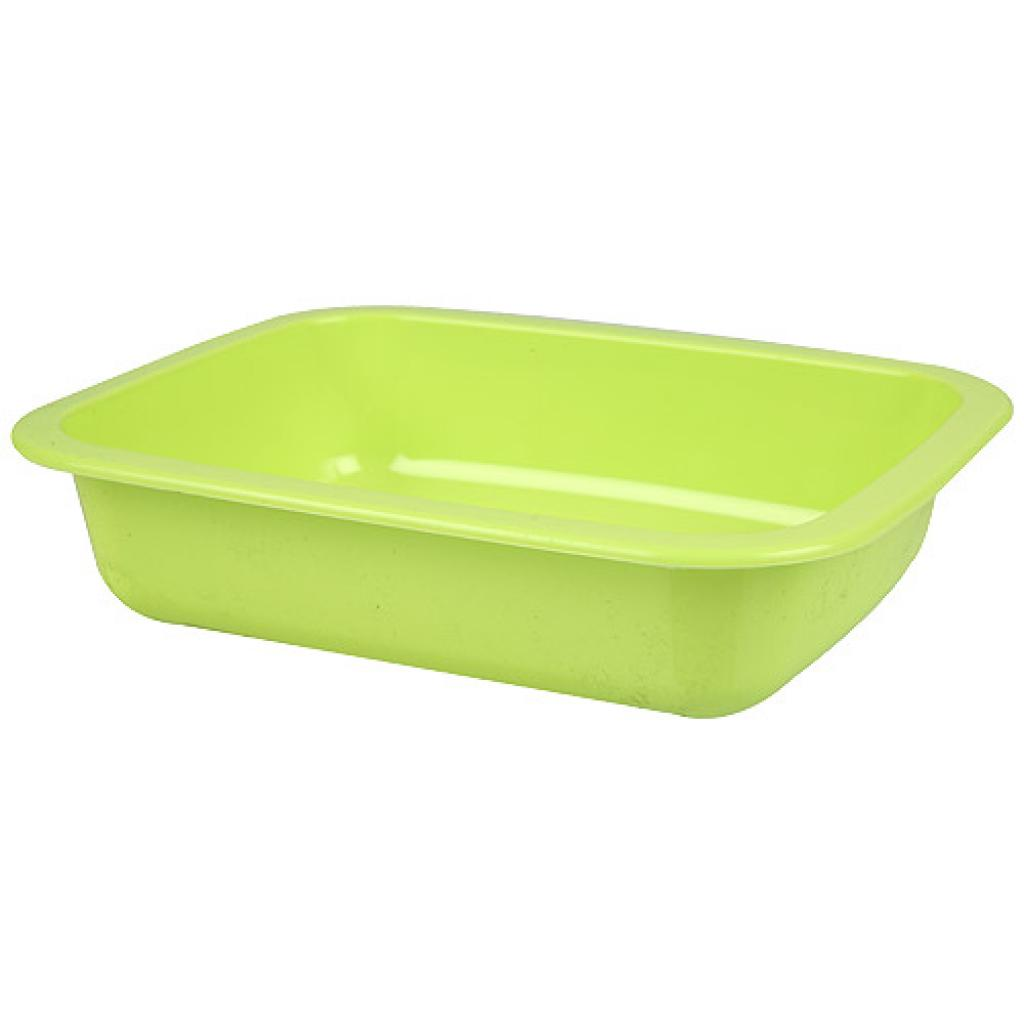 Green GN 1/8 moulded plastic container, 36mm depth