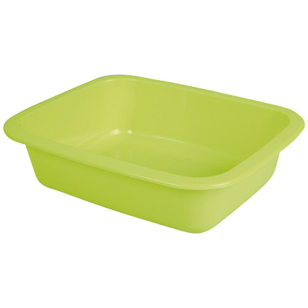 Green GN 1/8 moulded plastic container, 42mm depth