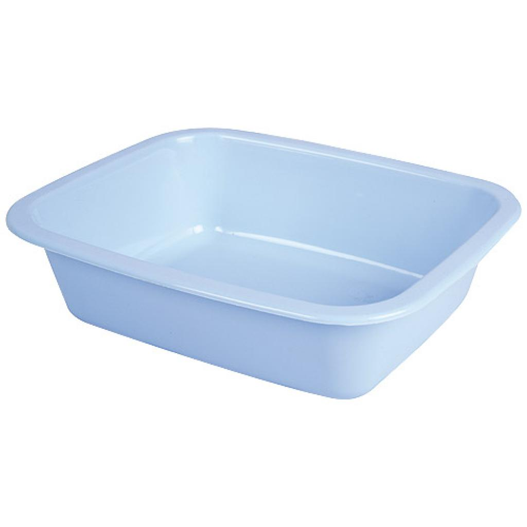 Blue GN 1/8 moulded plastic container, 42mm depth