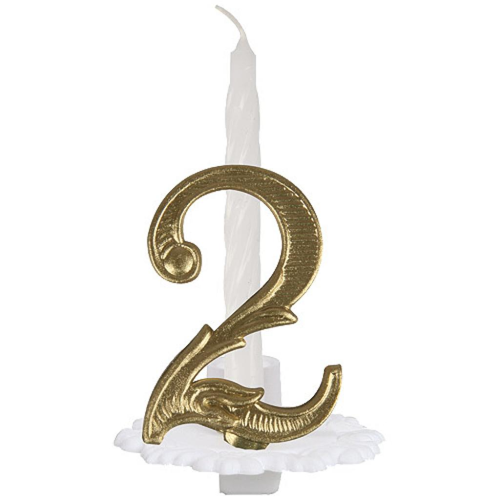 N°2 ordinary numbered candle