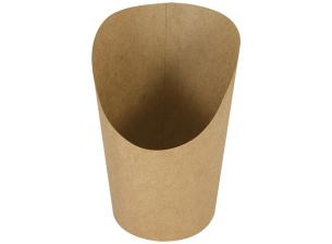 Brown kraft paperboard wrap sleeve