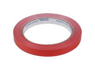 Scotch en PP rouge 12 mm x 66 m