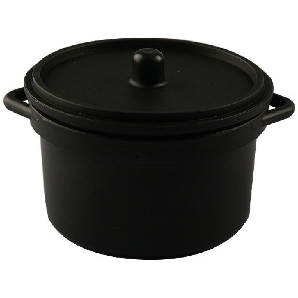 8cl circular black PP casserole verrine 4