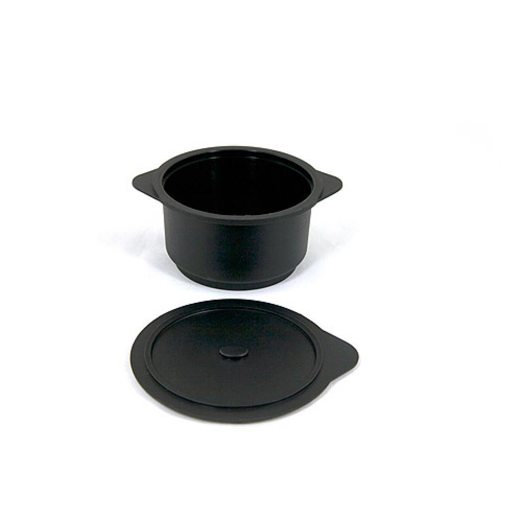 Verrine cocotte ronde en PP noire 30 cl 3