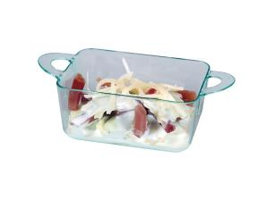 Verrine anses PS transparent 6,7x5x3 cm
