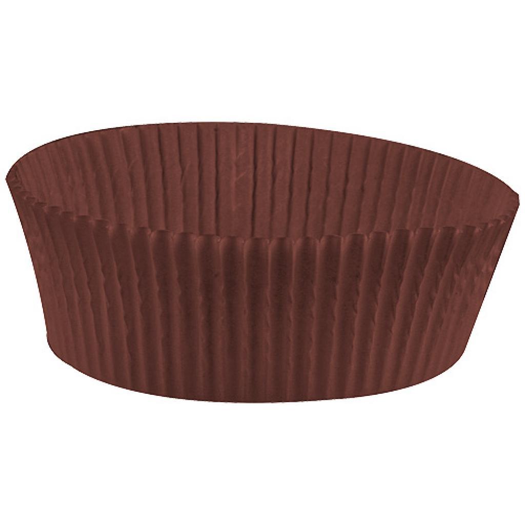Caissette plissée ronde papier brun n°1209