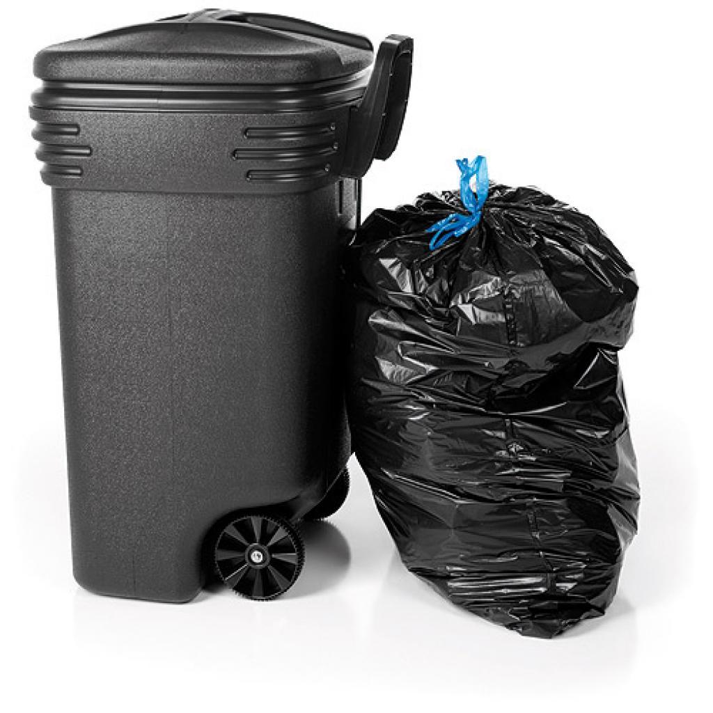 Housse container poubelle en PE  750 L