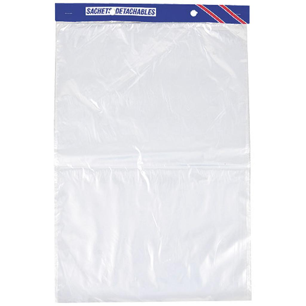 Sac Liasse Transparent Plastique PEHD 23x31cm