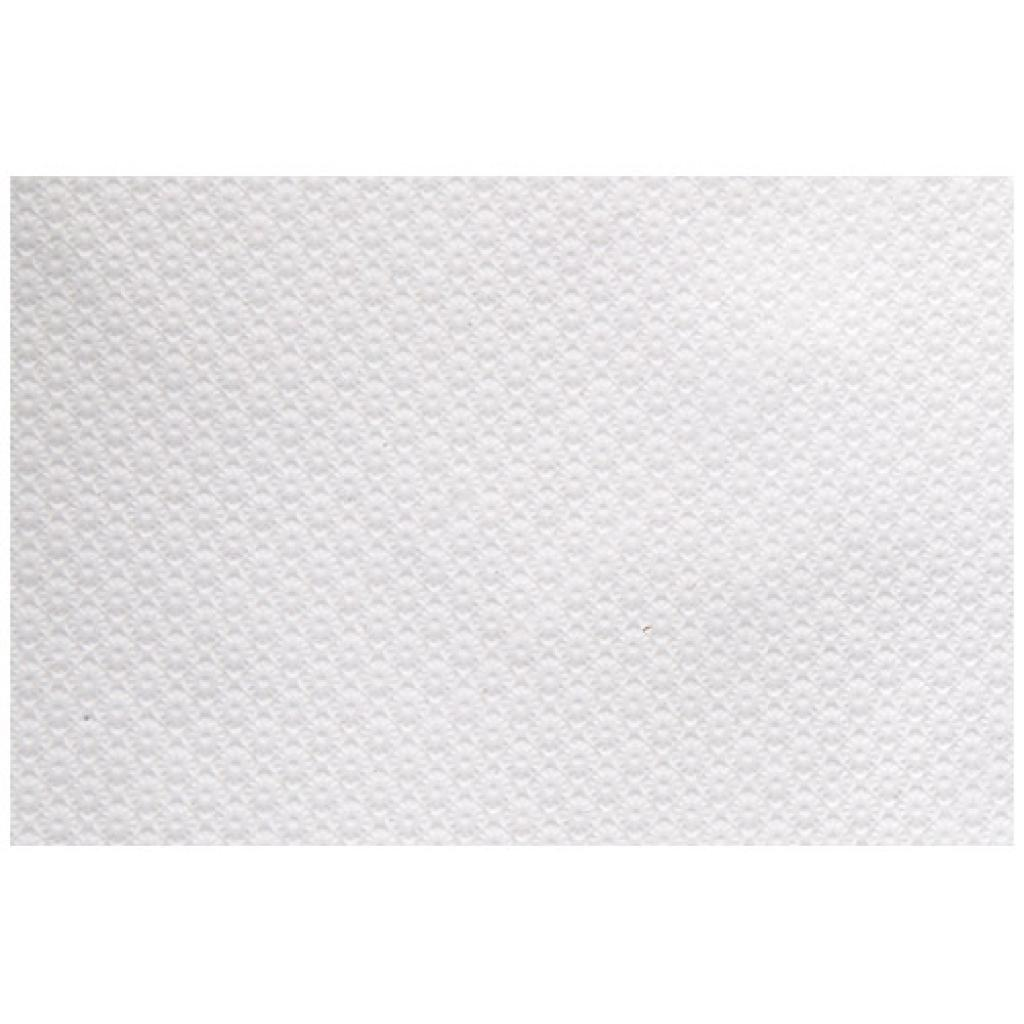 Rectangular white paper tablecloth 80x120 mm