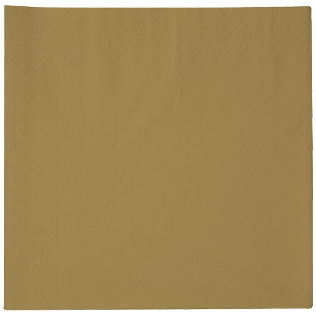 Serviette celi-ouate or 38x38 cm