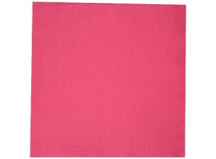 Fuchsia double-fold quilted napkin 38x38 cm