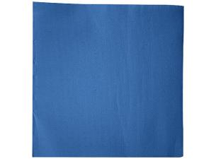Capri blue double-quilted cocktail napkin 38x38 cm