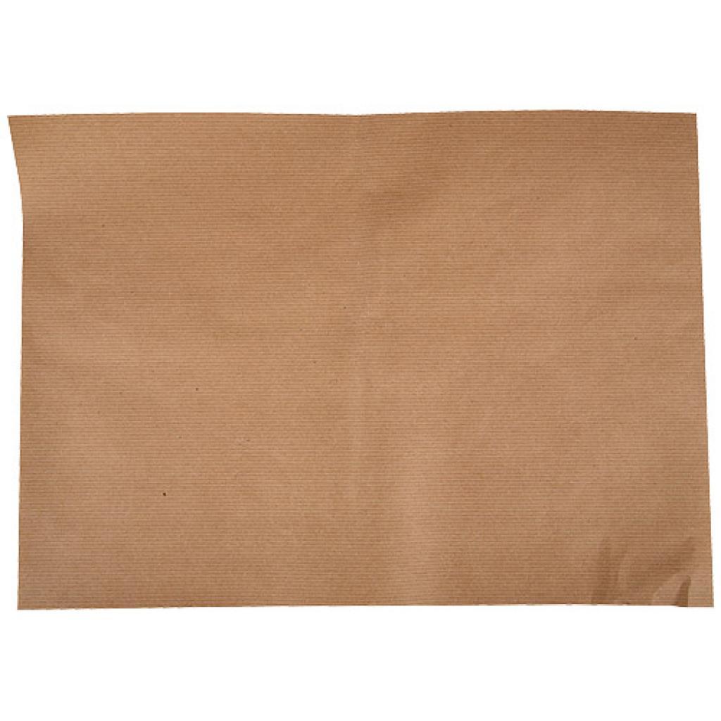Set de table en papier kraft brun 21x29,7 cm