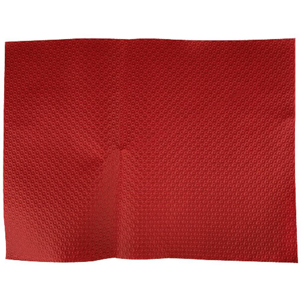 Burgundy paper place mat 30x40 cm