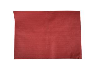 Brown red paper place mat 30x40 cm