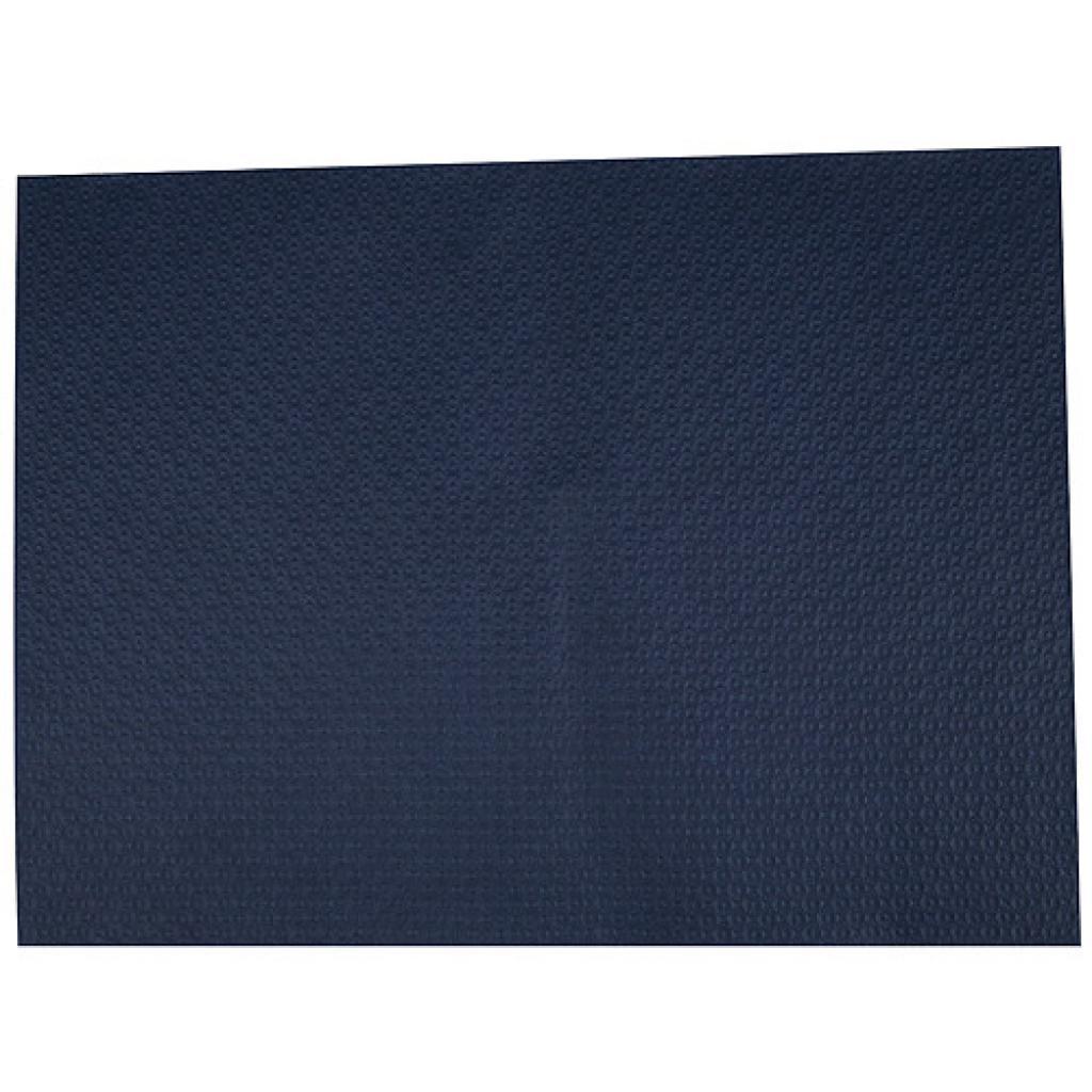 Dark blue paper place mat 30x40 cm