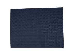 Dark blue paper place mat 30x40 cm