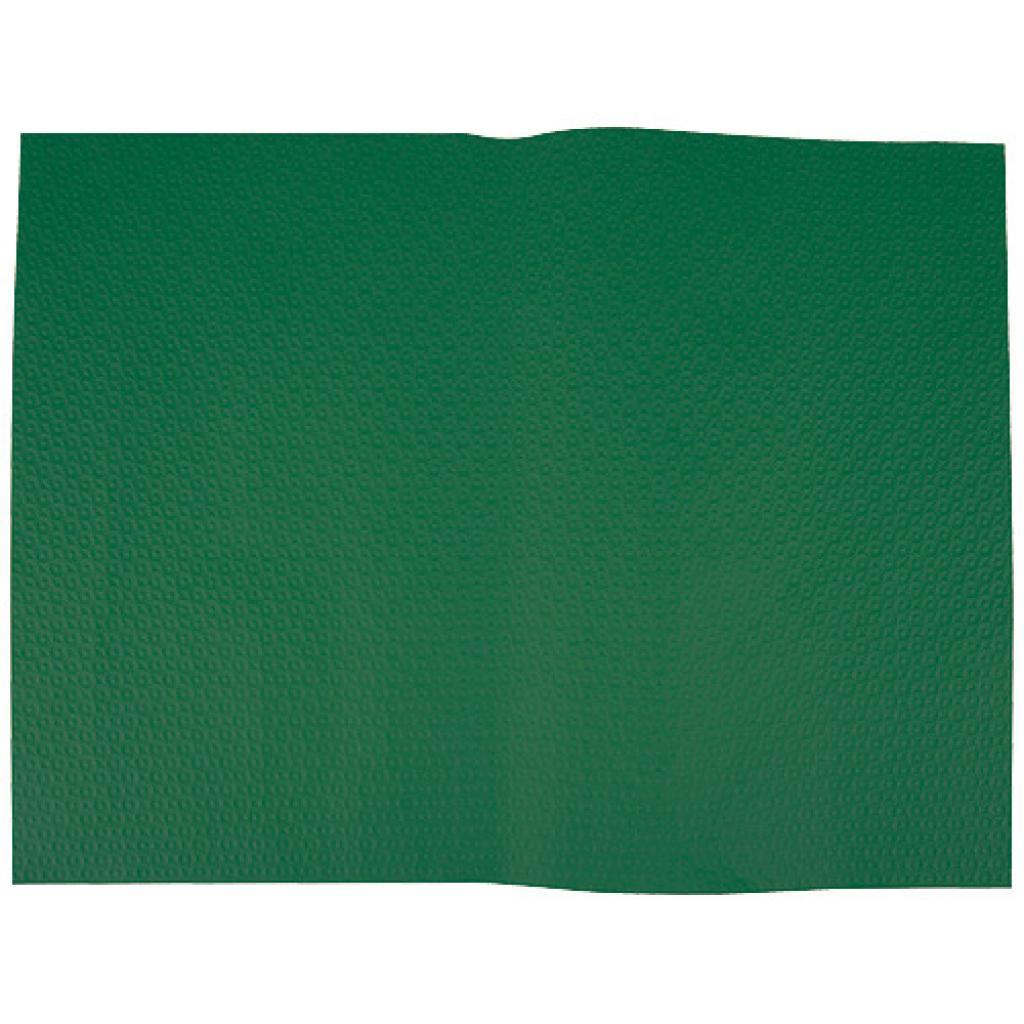 Dark green paper place mat 30x40 cm