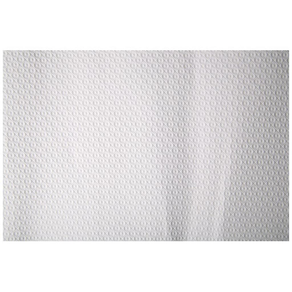 Square white paper tablecloth 70x70 cm
