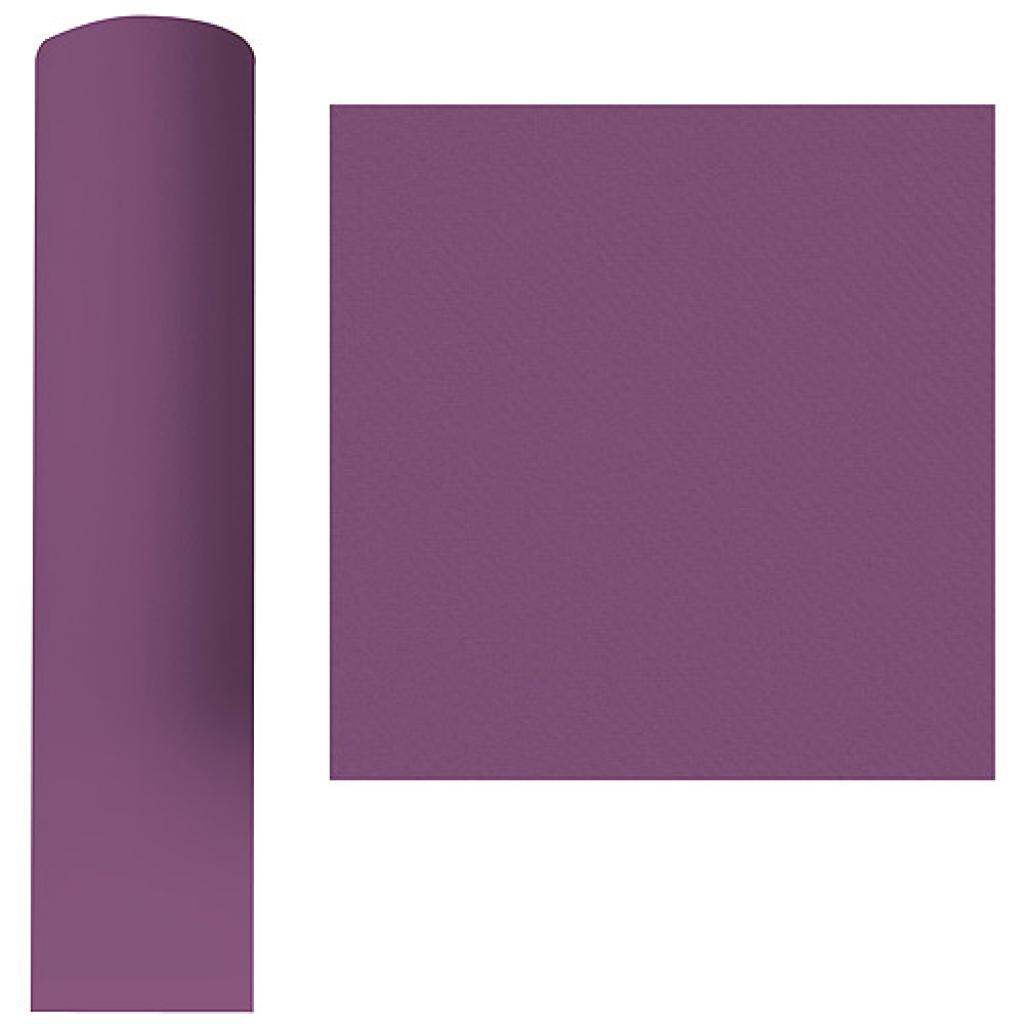 Roll of deep purple dry process tablecloth, 1.20x25 m