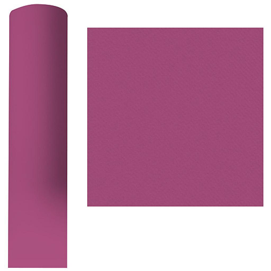 Roll of aubergine purple dry process tablecloth, 1.20x25 m